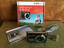 BRAND NEW! AGFA PHOTO Digital Camera - Compact Cam DC5500, Black