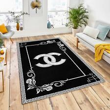 Versace Chanel Area Rug Luxury Floor Carpet for Living room Bedroom Decor