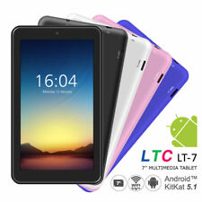 "LTC 7"" HD Android 5.1 Lollipop Pad Tablet MID A33 Quad Core 8GB PC WiFi 8GB"
