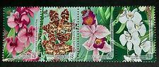 SINGAPORE 1998 AUSTRALIA JOINT. ORCHIDS FLOWERS SG 1800 - 1803 MNH FRESH