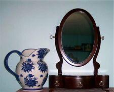 Men's-Womans Wood Vanity Dresser Top Mahogany Finish