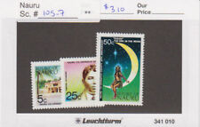 Nauru - 1973 Nauru Co-operation Set. Sc. #105-7, SG #113-5. Mint NH