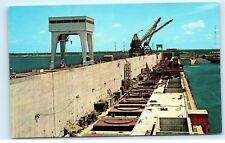 *St. Lawrence River Seaway Power Project Moses-Saunders Power Dam Postcard A21