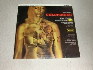JOHN BARRY. GOLDFINGER. UNITED ARTISTS ULP 1076 (GREAT LP FROM 1964).