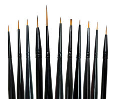Royal Langnickel Paint Brush Set 11pc MAJESTIC DETAIL Artist Brushes Art Supply