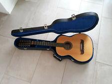 Gitarre 12 Saiten handgemacht (Hans Hau) mit Hartschalen-Case hand made handmade