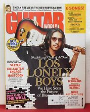 Los Lonely Boys Guitar World Magazine Pink Floyd AC/DC Pearl Jam January 2005!