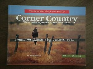 Australian Geographic Book of Corner Country by Mitch Reardon