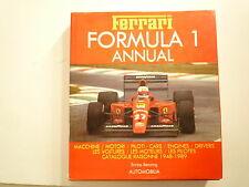 FERRARI FORMULA 1 ANNUAL 1989 DE ENRICO BENZING ED AUTOMOBILIA AUTOMNE 1989
