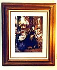 """Magnificent """"Une Veuve. a widow"""" By James Jacques Tissot Framed Painting Print"""