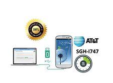 Unlock Service Galaxy S3 /  At&t  /  SM-I747A  /  Done 10-15 MIN