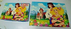 """PUZZLE VINTAGE  CLEMENTONI ANNI 80  """" CANDY CANDY """" CON SCATOLA"""