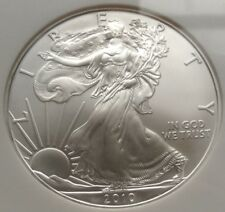 US Eagle silver Dollar early releases 2010 1 Oz 999 NGC MS69