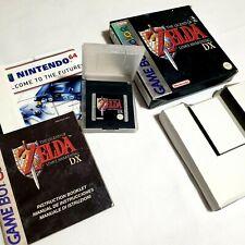 RARE 1The Legend of Zelda Links awakening DX nintendo Game Boy Colour Game Boxed