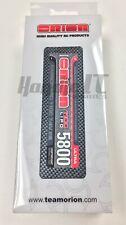 NEW! TEAM ORION CARBON PRO 110C 5800MAH 2S LIPO 4MM BULLETS. PART# ORI14087