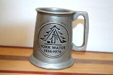 Vintage Utility Advertising  Mug Stein York Water Company 1816-1976