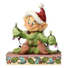 Disney Traditions Christmas Dopey Figurine Light Up The Holidays Ornament Xmas