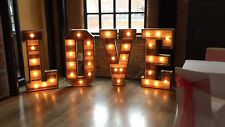 Giant 4ft Wooden LOVE letter HIRE West Midlands