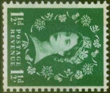 GB 1961 1/2d Green SG612a Phosphor Wmk Sideways Fine MNH