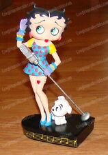 "1995 Betty Boop ""Betty Sings the Blues"" Danbury Mint Collector Edition Figurine"