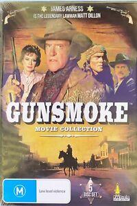 Gunsmoke Collection : 5 Discs : James Arness is the legendary Matt Dillon