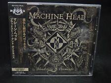 MACHINE HEAD Bloodstone & Diamonds JAPAN CD Vio-lence Forbidden Evil Juggernaut