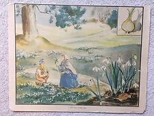 Eileen Soper Enid Blyton 1950s Original School Print No.11 Little Hidden Spell