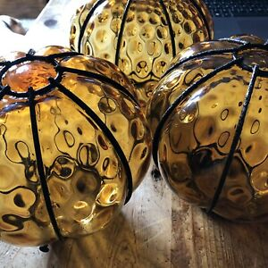 MCM Murano Style Caged Glass Lampshades    # 68