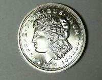 1984 Morgan Silver Dollar Style 1 oz .999 Fine Silver Round (m.rm.rl)
