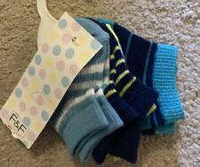 Baby Boys Newborn - 5 Pairs Of Socks - BNIPs