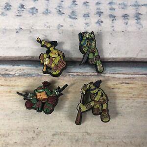 Jibbitz Crocs Shoe Charm Teenage Mutant Ninja Turtle Lot