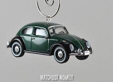 Classic Deluxe Volkswagen Beetle Custom Christmas Ornament VW Bug Herbie 1/64