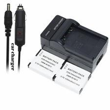 2 Battery +AC/DC Charger for DMW-BCM13 DMW-BCM13E & Panasonic Lumix DMC-ZS50K