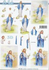 Feuille 3D à découper A4 777.164 Religieux Jésus Decoupage Religious