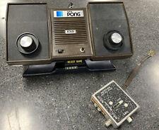 Atari Super Pong Model C-140 Console w/ AC Adapter (Untested)