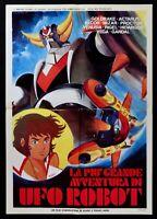 Poster Die Mehr 'Grande Abenteuer Von UFO Robot Goldrake All'Anschluss Toei S13