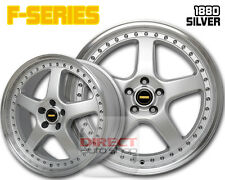 4x FR SILVER 18 inch Alloy Wheel Mazda 3 Civic i30 ASX Lancer Camry Cerato Ford