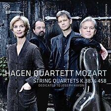 Mozart: String Quartets, K.387 & 458, New Music