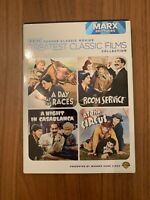 TCM Greatest Classic Films Collection (Marx Brothers, 4 Movie DVDs, 2010)