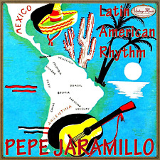 PEPE JARAMILLO iLatina CD / Latin American Rhythm - Sway - Piano Lounge Ambient