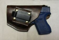 Left Hand IWB Concalment Holster for Glock 43 With Laser Guard LS443 Sight