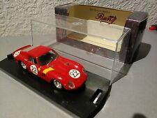 1:43 Ferrari 250 GTO Bang Modellauto Le Mans 1962 in OVP mit Vitrine
