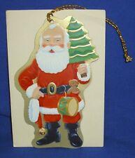 Hallmark Christmas Keepers Hanging Card Gift Tag Merry Olde Santa 1990 Ed Seale