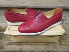 NEW Hanover Ultra Sport Dress Shoes Flame Red Size 10 M New Old Stock Leather