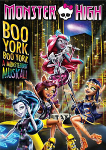 Monster High: Boo York . [Region 4] - DVD - Free Shipping. - New