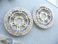 FRont brake rotors sv650 sv650s suzuki 99-02 1st generation