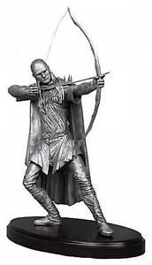 Lord of the Rings LEGOLAS Orlando Bloom FINE Pewture Metal Statue 61cm Neca Rare