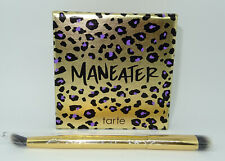 TARTE Maneater Collection Eyeshadow Palette Limited Edition + 2-in-1 Brush NEW