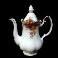 "ROYAL ALBERT  ""Old Country Roses""  Coffee Pot  (Large Size)   **STOCKTAKE SALE**"