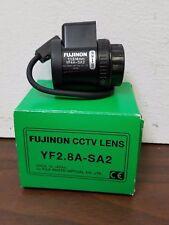 Fujinon YF2.8A-SA2 CCTV Lens